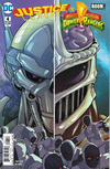 Cover for Justice League Power Rangers (DC, 2017 series) #4