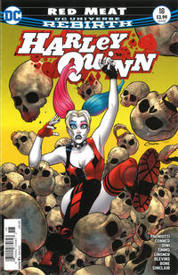 Cover Thumbnail for Harley Quinn (DC, 2016 series) #18 [Newsstand]