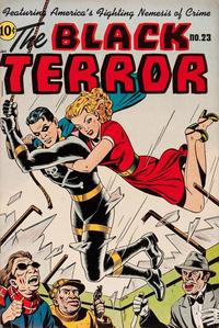 Cover Thumbnail for Black Terror Comics (Better Publications of Canada, 1948 series) #23