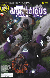Cover Thumbnail for Voracious: Feeding Time (Action Lab Comics, 2016 series) #5 [Cover A]