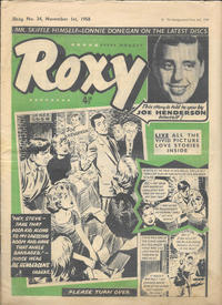 Cover Thumbnail for Roxy (Amalgamated Press, 1958 series) #34