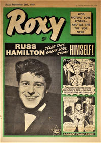 Cover Thumbnail for Roxy (Amalgamated Press, 1958 series) #26 September 1959 [81]