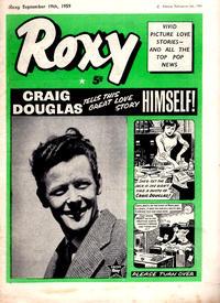 Cover Thumbnail for Roxy (Amalgamated Press, 1958 series) #19 September 1959 [80]