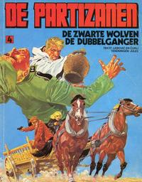 Cover Thumbnail for De Partizanen (Oberon, 1980 series) #4 - De zwarte wolven/De dubbelganger