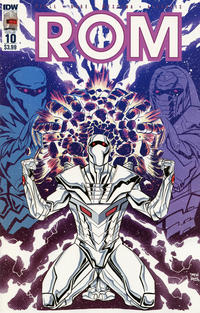 Cover Thumbnail for ROM (IDW, 2016 series) #10 [Regular Cover]