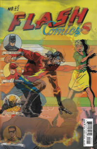 Cover Thumbnail for The Flash (DC, 2016 series) #22 [Jason Fabok Lenticular Cover]