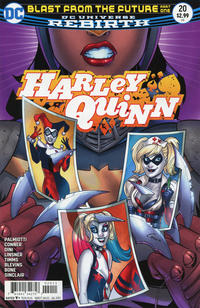 Cover Thumbnail for Harley Quinn (DC, 2016 series) #20 [Amanda Conner Cover]