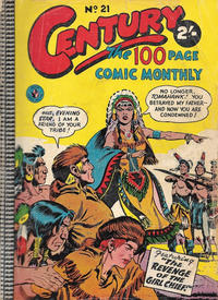 Cover Thumbnail for Century, The 100 Page Comic Monthly (K. G. Murray, 1956 series) #21