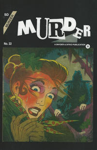 Cover Thumbnail for Murder (Robin Snyder and Steve Ditko, 2017 series) #22