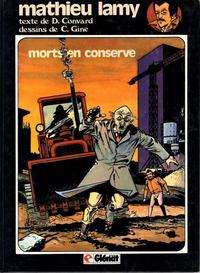 Cover Thumbnail for Mathieu Lamy (Glénat, 1983 series) #1 - Morts en conserve