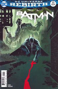 Cover Thumbnail for Batman (DC, 2016 series) #23 [Tim Sale Cover]