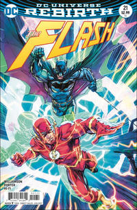 Cover Thumbnail for The Flash (DC, 2016 series) #21 [Howard Porter Variant Cover]