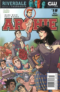 Cover Thumbnail for Archie (Archie, 2015 series) #19 [Newsstand - Pete Woods]