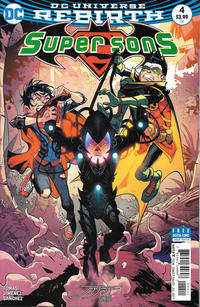 Cover Thumbnail for Super Sons (DC, 2017 series) #4