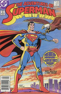 Cover Thumbnail for Adventures of Superman (DC, 1987 series) #424 [Canadian]