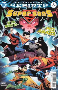 Cover for Super Sons (DC, 2017 series) #3