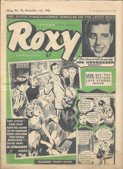 Cover for Roxy (Amalgamated Press, 1958 series) #34