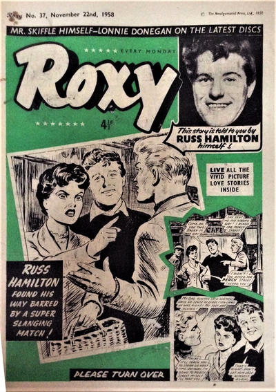 Cover for Roxy (Amalgamated Press, 1958 series) #37