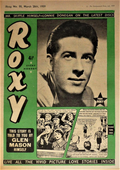 Cover for Roxy (Amalgamated Press, 1958 series) #55