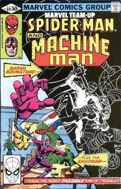 Cover for Marvel Team-Up (Marvel, 1972 series) #99 [Direct Edition]
