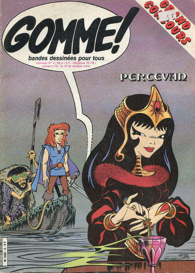 Cover for Gomme! (Glénat, 1981 series) #4