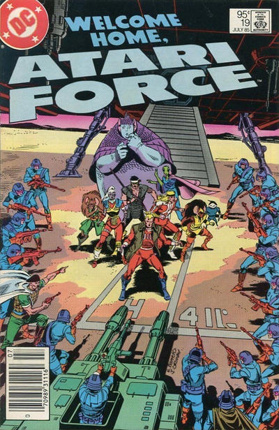 Cover for Atari Force (DC, 1984 series) #19 [Direct Sales]