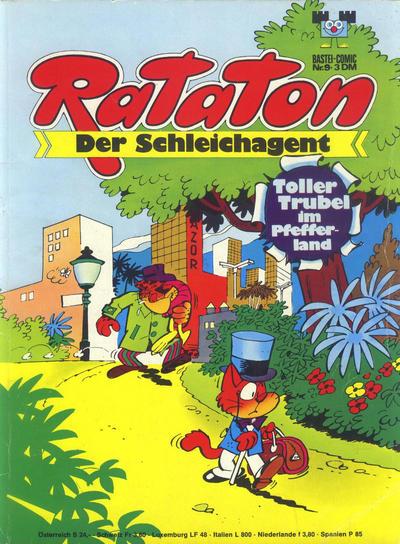 Cover for Bastei-Comic (Bastei Verlag, 1972 series) #9 - Rataton der Schleichagent - Toller Trubel im Pfefferland