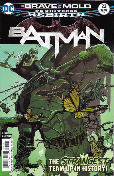 Cover for Batman (DC, 2016 series) #23 [Mitch Gerads Cover]