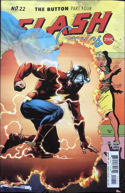 Cover for The Flash (DC, 2016 series) #22 [Howard Porter Variant Cover]