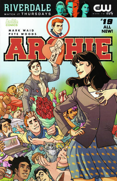 Cover for Archie (Archie, 2015 series) #19 [Cover B - Emanuela Lupacchino]