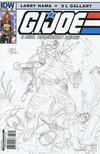 Cover Thumbnail for G.I. Joe: A Real American Hero (2010 series) #172 [Cover RI Larry Hama]