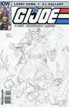 Cover Thumbnail for G.I. Joe: A Real American Hero (2010 series) #172 [Cover RI Larry Hama]
