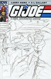 Cover for G.I. Joe: A Real American Hero (IDW, 2010 series) #184 [Cover RI - Incentive Larry Hama Sketch Variant]