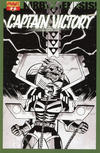 """Cover Thumbnail for Kirby: Genesis - Captain Victory (2011 series) #2 [""""Black & White"""" Retailer Incentive Cover by Michael Avon Oeming]"""