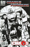 Cover for The Transformers (IDW, 2009 series) #25 [Cover RI]