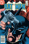 Cover Thumbnail for Batman (1940 series) #395 [Canadian Newsstand]