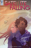 Cover for Satellite Falling (IDW, 2016 series) #5 [Subscription Cover]