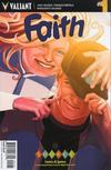 Cover for Faith (Valiant Entertainment, 2016 series) #1 [Cover H - Source Comics - Stephanie Hans]
