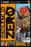Cover for Generation Zero (Valiant Entertainment, 2016 series) #5 [Cover A - Stephen Mooney]