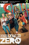 Cover for Generation Zero (Valiant Entertainment, 2016 series) #2 [Cover D - Clayton Henry]
