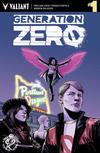 Cover for Generation Zero (Valiant Entertainment, 2016 series) #1 [Rose City Comic Con - Ibrahim Moustafa]