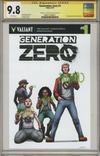 Cover for Generation Zero (Valiant Entertainment, 2016 series) #1 [Cover C - Pere Pérez]