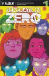 Cover for Generation Zero (Valiant Entertainment, 2016 series) #1 [Cover F - Kano]