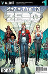 Cover for Generation Zero (Valiant Entertainment, 2016 series) #1 [Cover H - Most Good Hobby - Andres Guinaldo]