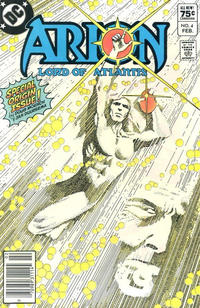 Cover Thumbnail for Arion, Lord of Atlantis (DC, 1982 series) #4 [Canadian]