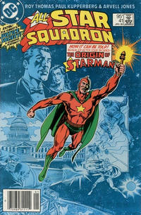 Cover Thumbnail for All-Star Squadron (DC, 1981 series) #41 [Canadian]