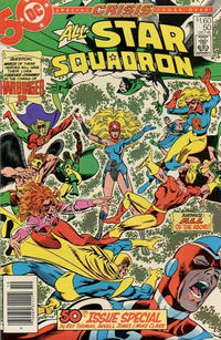 Cover Thumbnail for All-Star Squadron (DC, 1981 series) #50 [Canadian]