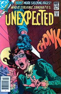 Cover Thumbnail for The Unexpected (DC, 1968 series) #215 [Newsstand]