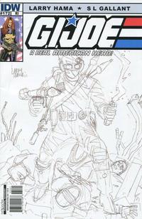 Cover Thumbnail for G.I. Joe: A Real American Hero (IDW, 2010 series) #172 [Cover RI Larry Hama]
