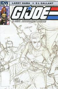 Cover Thumbnail for G.I. Joe: A Real American Hero (IDW, 2010 series) #178 [Cover RI Larry Hama]